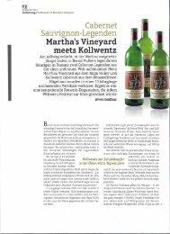 2 Artikel aus dem Vinaria Magazin 2012 - PULKER´S Heuriger