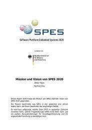 Mission und Vision von SPES 2020
