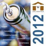 termine fakten veranstaltungen konzept events ... - das Weinhaus