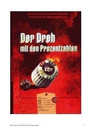 Fritz Ulmer: Der Dreh mit den Prozentzahlen 1 - Wahlprognosen und ...