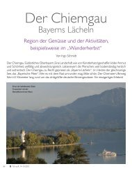 Der Chiemgau - Gourmet Vital by Werner Langbauer