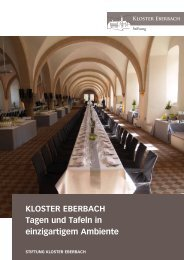 Kloster eberbach tagen und tafeln in einzigartigem ambiente