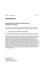 Nationaler Pakt für Bildung und Entschuldung. Wir denken an ... - SPD