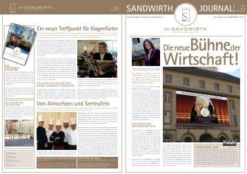 JOURNAL I / 2008 SANDWIRTH Die neueBühne der - Pixelpoint ...