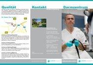 Kontakt Darmzentrum Qualität - Klinikum Niederberg