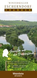 Weinliste zum Download - Winzerkeller Escherndorf