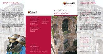 AntiquitiesCard - Rheinisches Landesmuseum Trier