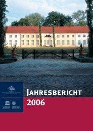 Jahresbericht als PDF - Stiftung Preußische Schlösser und Gärten
