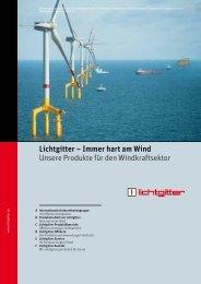 Lichtgitter – Immer hart am Wind Unsere Produkte ... - Lichtgitter GmbH