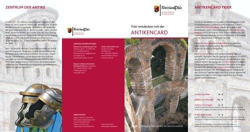 ANTIKENCARD - Rheinisches Landesmuseum Trier