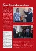 Die neue Gemeindeverwaltung steht - Seite 2