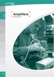 CATV Distribution Amplifiers
