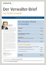 Notgeschäftsführung durch den Verwalter - Haufe.de