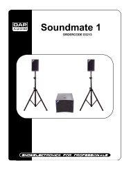 Soundmate 1 - UP Sound and Lights