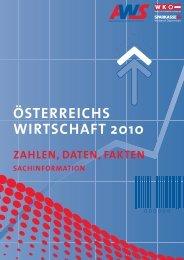 österreichs wirtschaft 2010 zahlen, daten, fakten sachinformation