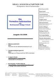 Verwalter Info März 2008