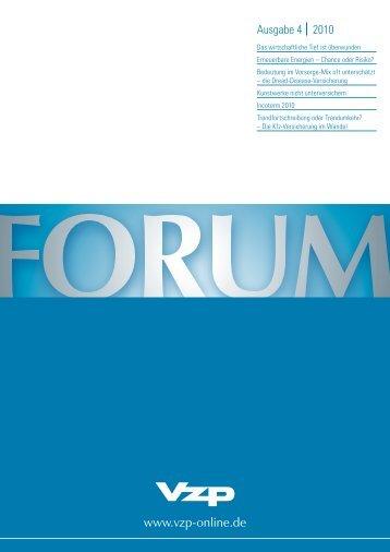 Ausgabe 4 I 2010 - VZP