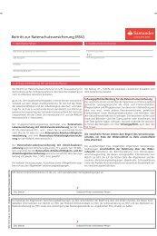 RSV - Santander Consumer Bank AG