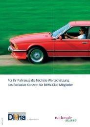 Beiträge zur BMWclub Haftpflicht - Der BMW 6er Club