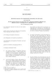 Richtlinie 2011/61/EU - EUR-Lex - Europa