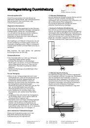 Montageanleitung Duomix (PDF) - Hippel Elektro-Wärme-Technik