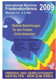 Globale Bedrohungen für den Frieden - Friedenskonferenz