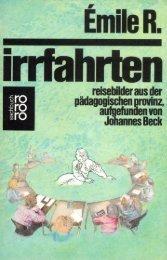 Hohe Schule» für Lehrer - Johannes Beck
