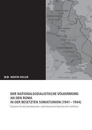 Der nationalsozialistiscHe VölkerMorD an Den roMa in Der - und ...