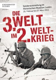 Programmheft - Die Dritte Welt im Zweiten Weltkrieg