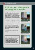 Broschüre TROCKENE HÄUSER. BAUWERKSABDICHTUNG - Seite 5