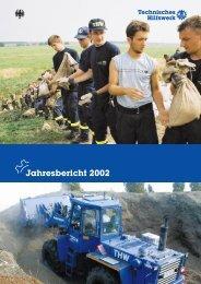 THW - Jahresbericht 2002