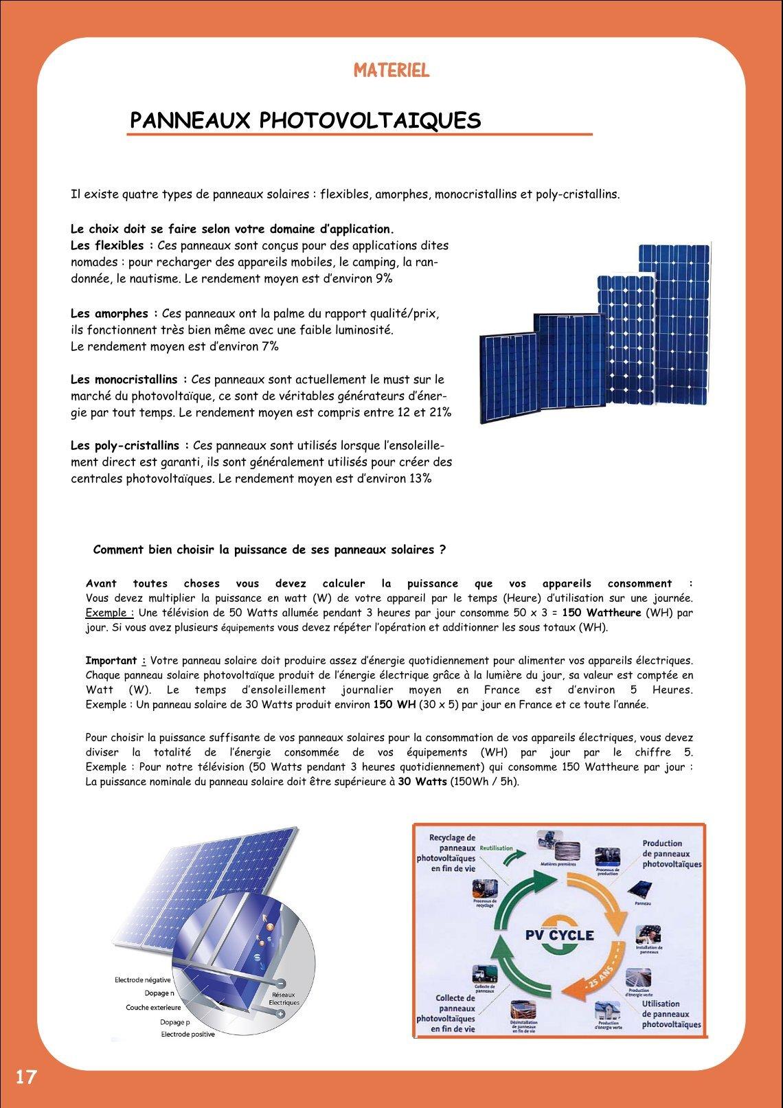 Puissance Panneau Photovoltaique dedans 1 free magazines from enernat