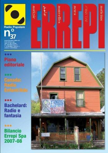 ••• Piano editoriale ••• Canada: Radio Enfant/Ado ... - Radio Popolare