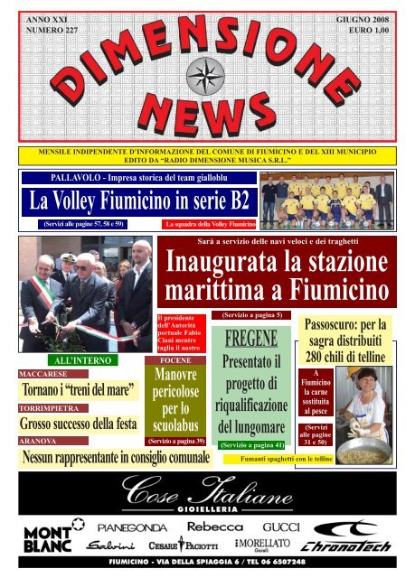 Giugno 2008 - N 227.pdf - Radio Dimensione Musica