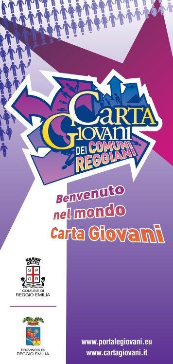 Brochure - Portale Giovani - Comune di Reggio Emilia