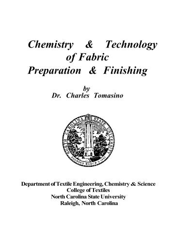 Chemistry & Technology of Fabric Preparation ... - P2 InfoHouse