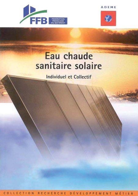 Eau chaude sanitaire solaire - Espace Info Energie Pays de la Loire