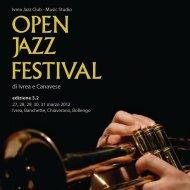 Scarica il programma completo dell'Open Jazz Festival