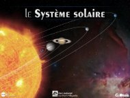 Le Système Solaire correspond à l'essaim de