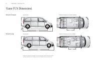 Viano FUN Dimensioni . - Mercedes Benz