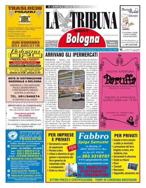 Nuova Fonte Del Materasso Bologna.Auto La Tribuna