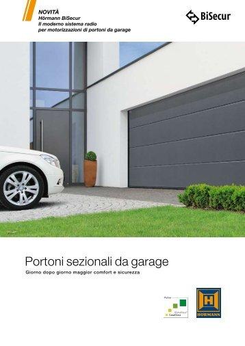 Portoni sezionali da garage - Hörmann Italia