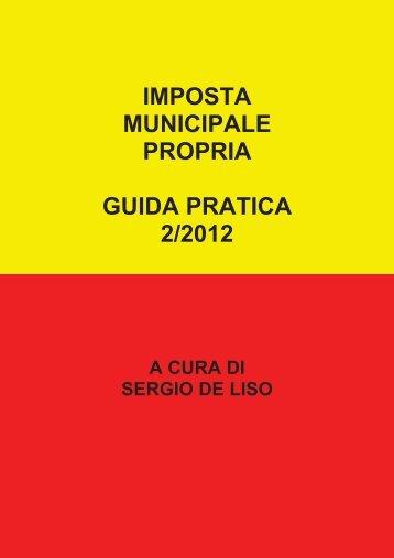 Guida pratica IMU 2_2012 - Scuola e Web – La Segreteria on-line