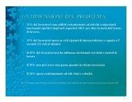 LA DIMENSIONE DEL PROBLEMA - ULSS 6 Vicenza