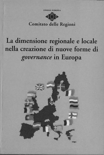 La dimensione regionale e locale - Europa