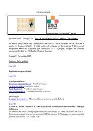 Convegno Arezzo Programma definitivo.pdf - Comune di Arezzo