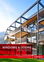 Internorm windows doors - Interlux Windows
