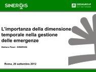 L'importanza della dimensione temporale nella ... - AMFM GIS Italia