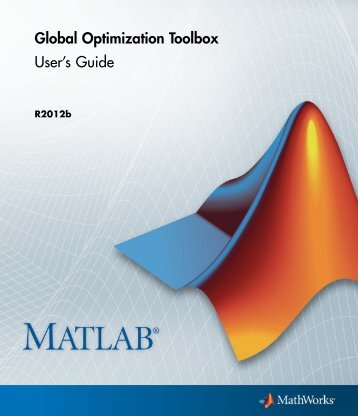Global Optimization Toolbox User's Guide - MathWorks