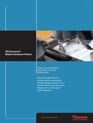 CRS Dimension4™ Modular Automation Platform